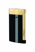 S.T. Dupont Slim 7 Lighter - Black/Gold