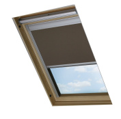 Bloc Skylight Blind M04 for Velux Roof Windows Blockout, Pewter