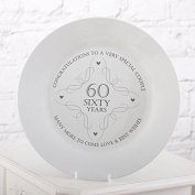 60th Anniversary Plate