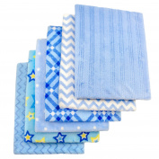 Cosy Fleece Baby Blankets for Boy, Assorted