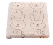 Gobrilliant 20x50CM Cute Rabbit Baby Infant Newborn Bath Towel Washcloth Bathing Cloth Soft