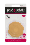 Tip Toes by Foot Petals - Poron with Soft Spots - Dual Density Ball of Foot Cushion Pads for Shoes - 1 Pair