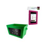 Kole Imports OC111 Multi-Purpose Storage Cube with Chalkboard