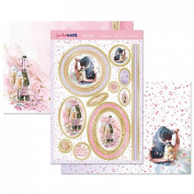 Hunkydory Crafts Special Days Wedding Wishes Topper Set Card Kit