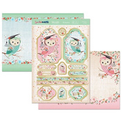 Hunkydory Crafts Special Days As Wise as An Owl Graduation Topper Set Card Kit