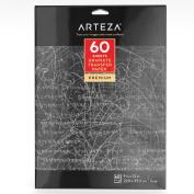 Arteza Graphite Transfer Paper, 23cm X 33cm , 60 Sheets
