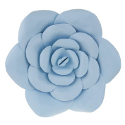 Mega Crafts 41cm Handmade Paper Flower in Aqua | For Home Décor, Wedding Bouquets & Receptions, Event Flower Planning, Table Centrepieces, Backdrop Wall Decoration, Garlands & Parties