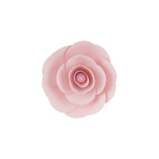 Mega Crafts 20cm Handmade Paper Flower in Pink | For Home Décor, Wedding Bouquets & Receptions, Event Flower Planning, Table Centrepieces, Backdrop Wall Decoration, Garlands & Parties