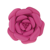 Mega Crafts 30cm Handmade Paper Flower in Fuchsia | For Home Décor, Wedding Bouquets & Receptions, Event Flower Planning, Table Centrepieces, Backdrop Wall Decoration, Garlands & Parties