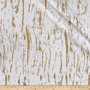 Softline Metallic Sioux Gold Fabric By The Yard
