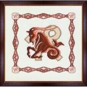 Cross Stitch Kit Horoscope Capricorn