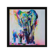 SCASTOE Animal Elephant 5D Diamond Embroidery Painting Cross Stitch Home Wall Decor