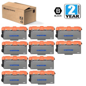 Compatible TN-780 TN780 Toner Cartridge 10 Pack Black High Yield Replacement for MFC-8950DW 8950DWT HL-6100 HL-6180DW HL-6180DWT, Etechwork Brand