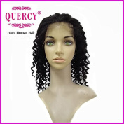 Quercy Hair Lace Front Human Hair Wigs for Black Women Deep Curly Indian Virgin Hair Wigs 130% Density Lace Human Hair Wigs with Baby Hair