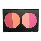 Newest trent 4 Colours Face Blush Powder Contour Make Up Powder Palette Beauty Facial Repair Powder Contouring Blush
