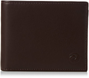 Mala Leather - RFID Quality Real Leather Gents Trifold Wallet - with Credit Card Slots, Coin Tray, ID, Zip and Note Section