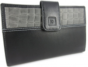 100% Genuine High Quality Leather Purse / Wallet for Women, Handmade by Craftsmen, Made in Spain. Elegant and Stylish (Size