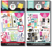 Big Happy Planner Sticker Value Packs - Colour Story and Rainbow