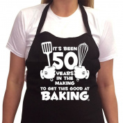 Women's 50th Birthday Gift Apron It's Been 50 Years 1967 Aprons 50th Birthday Gifts