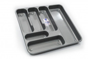 TML Large Cutlery Tray Silver