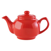 Price & Kensington Brights Coral 2 Cup Teapot, Red