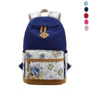 Oksale® Hot Unisex Vintage Canvas Travel Rucksack Shoulders Bag Satchel Backpack Bagpack School Bags