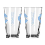 NCAA 470ml Game Day Pint, 2-Pack
