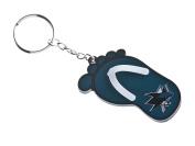 NHL Pittsburgh Penguins Soft Flip Flop Key Ring