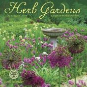 Herb Gardens 2018 Wall Calendar