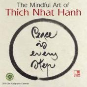 Mindful Art of Thich Nhat Hanh 2018 Wall Calendar