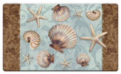 Counter Art 'Coastal Charm' Anti Fatigue Floor Mat, 80cm x 50cm
