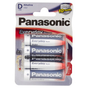 Panasonic LR20EPS/2BP each day Mono Power Battery