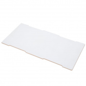 White Wooden Large Storage Box Lid, American Made - By Sprout