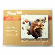 Fluid 100 Watercolour Cp 140kg Pochette 5X7
