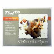 Fluid 100 Watercolour Cp 60kg Pochette 11X14