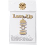 EyeConnect Chipboard Lace-Up-Birdhouse, 10cm x 27cm