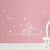 Kolylong® Stars Moon The Little Prince Boy Wall Sticker Home Decor baby room Wall Decals