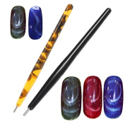 Alonea Magnet Pen Magnetic Stick for Cat Eye Gel Polish UV LED Nail Art Manicure Tools
