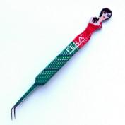 Eyelash Extension Tweezers Designer Lady In Red