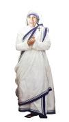 Aahs Engraving Mother Teresa Cardboard Standup, 1.5m