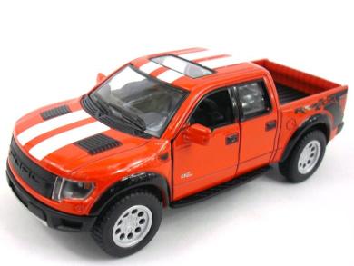 Ford F-150 SVT Raptor 1/46 Scale Diecast Metal Model - RED