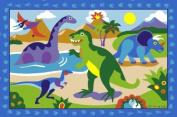 Dinosaur Jurassic World Kids Area Rug 100cm x 150cm - Rugs 4 Less Collection