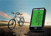 & qq Bike Computer, Original Wireless Bicycle Speedometer, Bike Odometer Cycling Multi Function 576