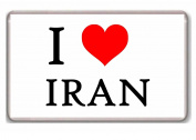 I LOVE Iran - I . Iran fridge magnet!!!