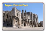 France - Avignon - Palais des Papes/fridge magnet.!!!