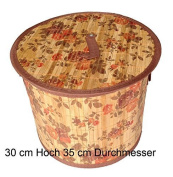 GMMH LN 413 Flora Laundry Basket - Height