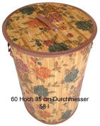 GMMH LN 46 Blue Rose Laundry Basket - Height
