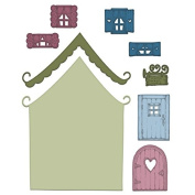 Heartfelt Creations Wildwood Cottage Die HCD1-7127