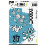 Carabelle Studio SA60263 A6 Stamp Small textures by Birgit Koopsen