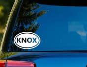 T1216 Knox Decal - 7.6cm x 13cm - Easy To Apply - Instructions Included - Premium 6 Year Vinyl